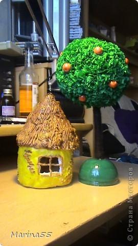 домик из колобка, яблонька из гусей-лебедей фото 1