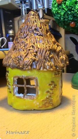 домик из колобка, яблонька из гусей-лебедей фото 2