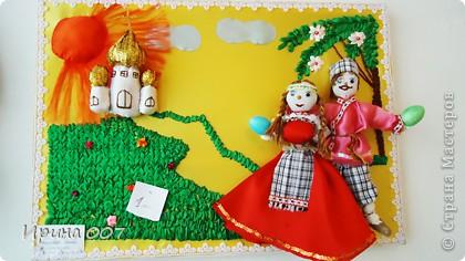 Сегодня побывала на выставке, посвященной Пасхе. Работы детей. фото 17