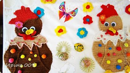 Сегодня побывала на выставке, посвященной Пасхе. Работы детей. фото 18