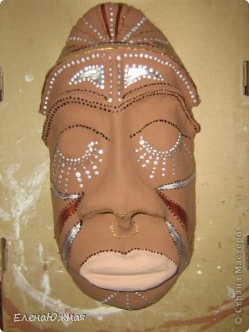 Моя первая маска фото 1