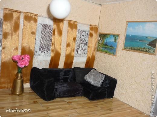 Домик из пенополистирола, вдохновила Наталья Мостипанова, спасибо! фото 6