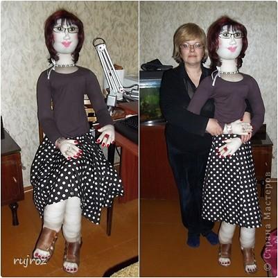 Шьем ростовую куклу мастер класс своими руками #6