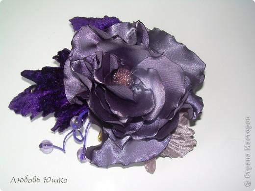 цветы из ткани фото 10