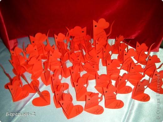 Мышки-валентинки (игольницы) фото 4