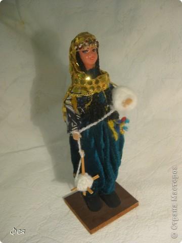 Увидела недавно на сайте кукол из холодного фарфора и решила показать свою небольшую  коллекцию кукол из разных матерьялов , купленных мною в разных странах   , может кому пригодится в качестве идей к творчеству. Эти красотки слеплены по - моему из холодного фарфора , в Доминиканской республике фото 6