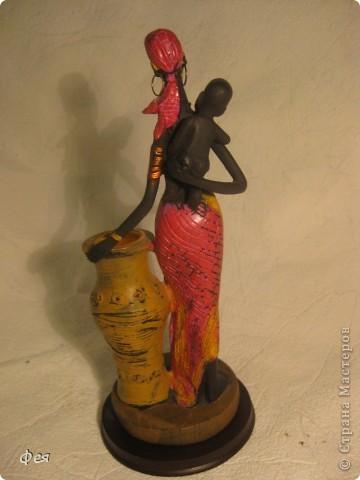 Увидела недавно на сайте кукол из холодного фарфора и решила показать свою небольшую  коллекцию кукол из разных матерьялов , купленных мною в разных странах   , может кому пригодится в качестве идей к творчеству. Эти красотки слеплены по - моему из холодного фарфора , в Доминиканской республике фото 13