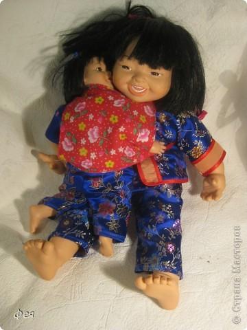 Увидела недавно на сайте кукол из холодного фарфора и решила показать свою небольшую  коллекцию кукол из разных матерьялов , купленных мною в разных странах   , может кому пригодится в качестве идей к творчеству. Эти красотки слеплены по - моему из холодного фарфора , в Доминиканской республике фото 15