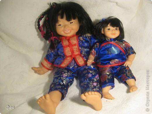 Увидела недавно на сайте кукол из холодного фарфора и решила показать свою небольшую  коллекцию кукол из разных матерьялов , купленных мною в разных странах   , может кому пригодится в качестве идей к творчеству. Эти красотки слеплены по - моему из холодного фарфора , в Доминиканской республике фото 16