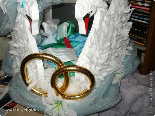 эти лебеди были на свадебной машине у знакомых, брали они их на пракат, сделаны они своими руками! Лебеди вырезаны из пенопласта, а перышки из искуственных цветов (хризантема) ну мне так показалась, может и другой цветок, а можно сделать и из боа, цветы за лебедями воткнуты в пенопласт и преклеены на клей. А вот что нашла в стране мастеров http://stranamasterov.ru/node/165535?c=favorite http://stranamasterov.ru/node/140494?c=favorite http://stranamasterov.ru/node/136983?c=favorite http://stranamasterov.ru/node/119455?c=favorite http://stranamasterov.ru/node/112301?c=favorite http://stranamasterov.ru/node/93170?c=favorite http://stranamasterov.ru/node/172772?c=favorite http://stranamasterov.ru/node/160300?c=favorite http://stranamasterov.ru/node/157884?c=favorite фото 2