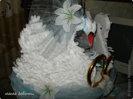 эти лебеди были на свадебной машине у знакомых, брали они их на пракат, сделаны они своими руками! Лебеди вырезаны из пенопласта, а перышки из искуственных цветов (хризантема) ну мне так показалась, может и другой цветок, а можно сделать и из боа, цветы за лебедями воткнуты в пенопласт и преклеены на клей. А вот что нашла в стране мастеров http://stranamasterov.ru/node/165535?c=favorite http://stranamasterov.ru/node/140494?c=favorite http://stranamasterov.ru/node/136983?c=favorite http://stranamasterov.ru/node/119455?c=favorite http://stranamasterov.ru/node/112301?c=favorite http://stranamasterov.ru/node/93170?c=favorite http://stranamasterov.ru/node/172772?c=favorite http://stranamasterov.ru/node/160300?c=favorite http://stranamasterov.ru/node/157884?c=favorite фото 3