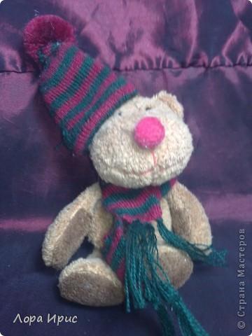 Хочу рассказать как сделать такую куклу за один вечер. В работе использовалась пластика Фимо, старенький плюшевый мишка, акриловые краски. фото 17
