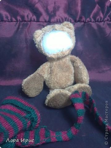 Хочу рассказать как сделать такую куклу за один вечер. В работе использовалась пластика Фимо, старенький плюшевый мишка, акриловые краски. фото 18