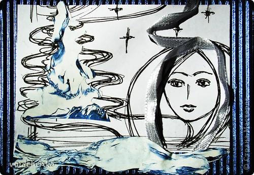 """ЦЕЙТНОТ... Время, где взять время??? Значит время... Значит это -  судьба - берем мою серию рисунков """"Женщина, линия, время"""" http://stranamasterov.ru/node/81409  и http://stranamasterov.ru/node/82213  - и сотворяем АТС! Люда и Юля - я вам задолжала, выбирайте. Следующая серия пока в дааалеком проекте, к сожалению... фото 3"""