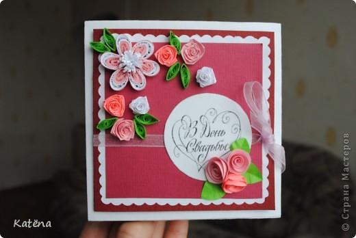 Вот такую коробочку я сделала друзьям на свадьбу! фото 1
