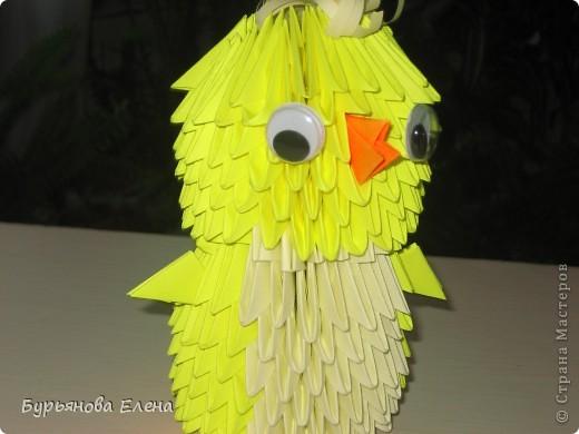 """Купили книгу модульное оригами Т. Просняковой, и принялись за работу. Хотела сделать """"Замок"""", а получилась ВАЗА. фото 4"""