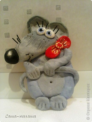 Вот такая мышка малышка у меня получилась. фото 6