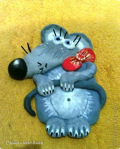 Вот такая мышка малышка у меня получилась. фото 7