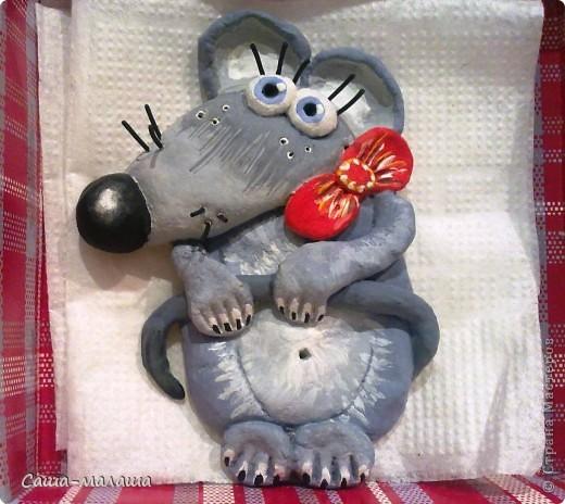 Вот такая мышка малышка у меня получилась. фото 1