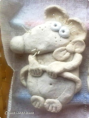 Вот такая мышка малышка у меня получилась. фото 3