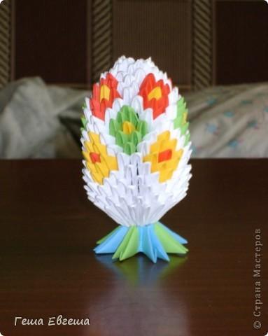 Огромное спасибо за вдохновение и подробный МК Евгении Пирютко. Её МК оказался как нельзя кстати.    Это мое первое яйцо (хотя больше похоже на шишку), прошу прощения за качество фото, но другого нет яйцо ушло на подарок. (Потратила на него от начала до конца больше недели) фото 1