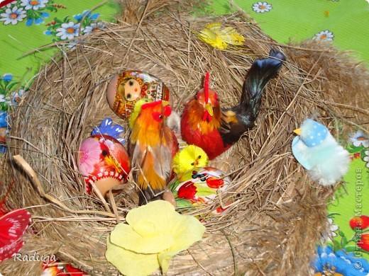 Гнездо для пасхальных яиц фото 2
