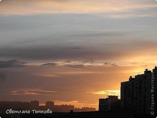 """Насмотревшись на сайте фото с видами неба,я вдохновилась и решила показать вам """"""""моё""""""""личное небо-тем более никуда ходить для этого не нужно было.Это вид из окна.Ещё видно море,но сейчас идёт стройка к саммиту А.Т.Р. поэтому пока не показываю.Итак-Владивосток,бухта Тихая-добро пожаловать! фото 8"""