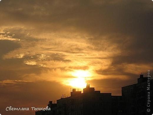 """Насмотревшись на сайте фото с видами неба,я вдохновилась и решила показать вам """"""""моё""""""""личное небо-тем более никуда ходить для этого не нужно было.Это вид из окна.Ещё видно море,но сейчас идёт стройка к саммиту А.Т.Р. поэтому пока не показываю.Итак-Владивосток,бухта Тихая-добро пожаловать! фото 14"""