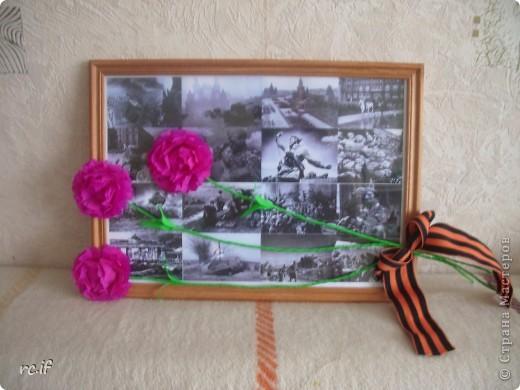 Вот такую поделку мы сделали к 9 мая для дочки в садик  фото 1