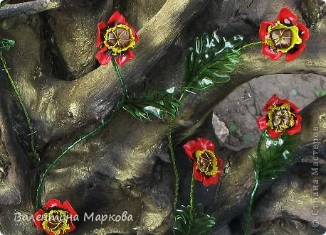 Представляю Вашему вниманию МК по изготовлению маков из...пластиковых бутылок. Такие маки были представлены           http://stranamasterov.ru/node/187529   Приступим?  фото 1