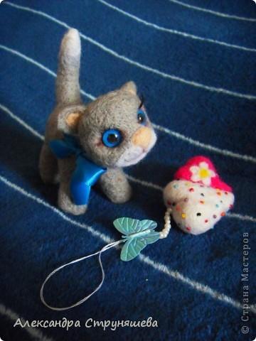 Валяный котейка. фото 2