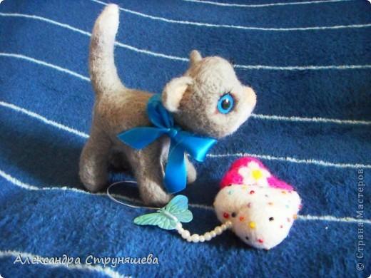 Валяный котейка. фото 3