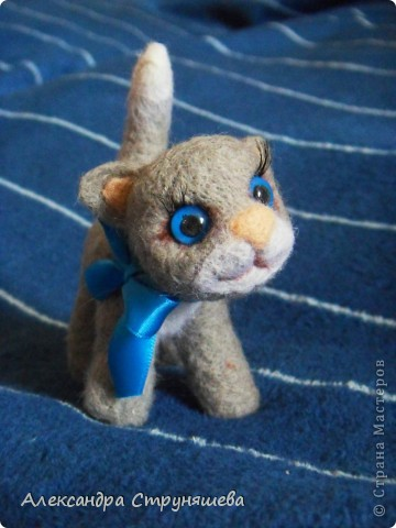 Валяный котейка. фото 4