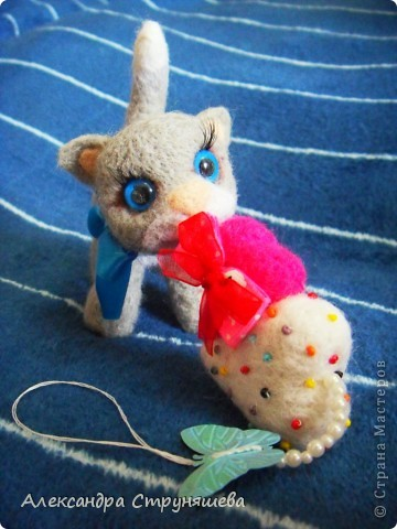 Валяный котейка. фото 5