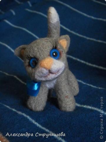 Валяный котейка. фото 1