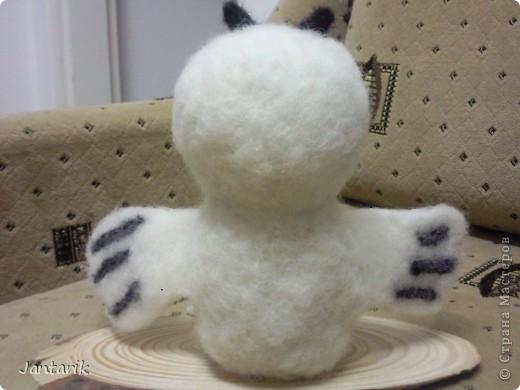 Эта сова-подарок моей подруге,которая увидев мои куклы попросила сову.Она собирает коллекцию разных сов.Вот такая получилась птичка. фото 3