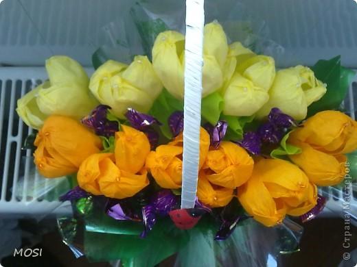 корзина цветов.... фото 3