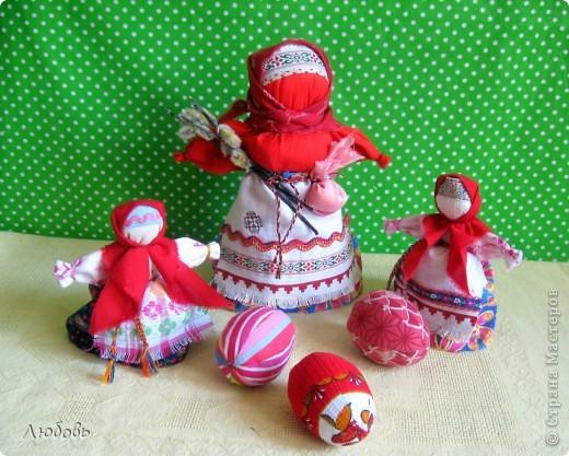 Птица Радость. Эту нарядную куклу делали на весенний праздник Сороки (день весеннего равноденствия) для закликания весны. фото 5