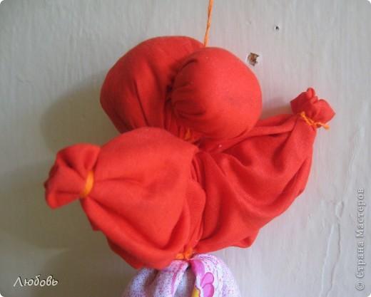 Птица Радость. Эту нарядную куклу делали на весенний праздник Сороки (день весеннего равноденствия) для закликания весны. фото 4