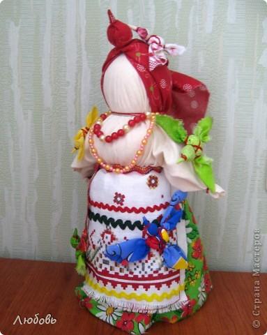 Птица Радость. Эту нарядную куклу делали на весенний праздник Сороки (день весеннего равноденствия) для закликания весны. фото 1