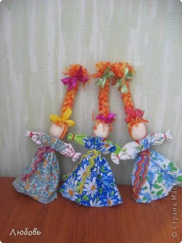 Птица Радость. Эту нарядную куклу делали на весенний праздник Сороки (день весеннего равноденствия) для закликания весны. фото 2
