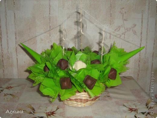 Корабль из конфет на день рождения мужа. Много идей тут http://club.osinka.ru/topic-55757?p=2277397#2277397 фото 1