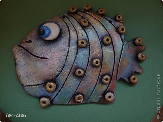 Вот такая рыбка получилась, с различными оттенками металлическими, переливающимися как нефтяное пятно .  фото 6