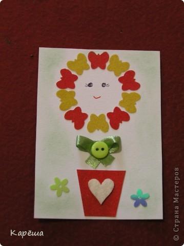 """Здравствуйте, дорогие девочки! Что-то тянет на цветочки, не удержалась ))). Серия называется """"Солнышко моё"""". Навеялось мне моими мальчишками.  фото 2"""