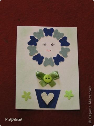 """Здравствуйте, дорогие девочки! Что-то тянет на цветочки, не удержалась ))). Серия называется """"Солнышко моё"""". Навеялось мне моими мальчишками.  фото 3"""