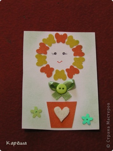 """Здравствуйте, дорогие девочки! Что-то тянет на цветочки, не удержалась ))). Серия называется """"Солнышко моё"""". Навеялось мне моими мальчишками.  фото 4"""