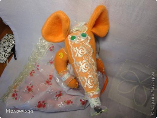 Оранжевая Крысуля фото 2