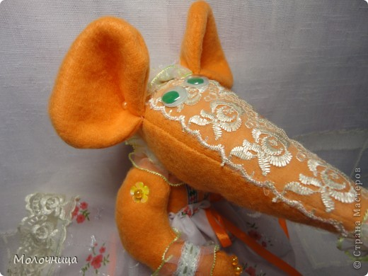 Оранжевая Крысуля фото 3