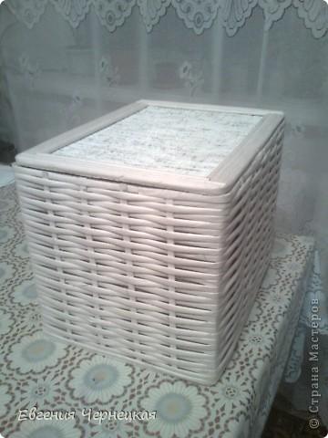 Вот такую коробочку сделала!!! фото 1