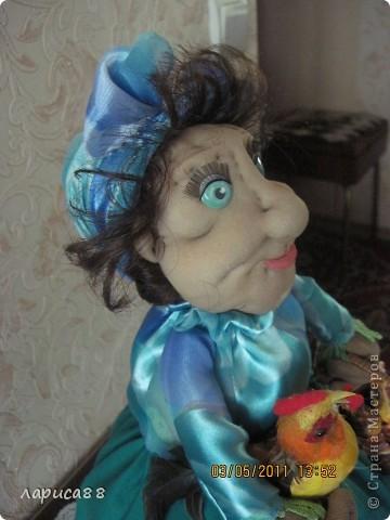 Дуня - кукла на чайник. фото 3